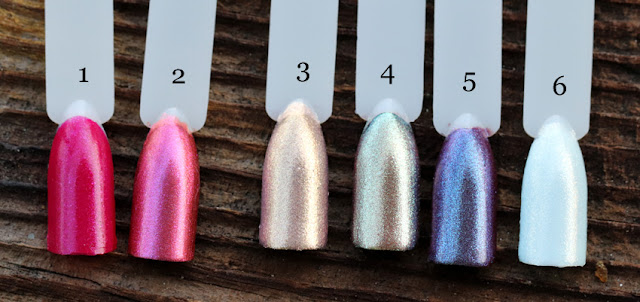 Martian Love,  Rocket Star, Golden Aurora, Asteroid Rain, Meteor Shower, Sattelite Luna