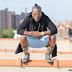 Iceberg Slim Poses for Outdoor Shots in New York