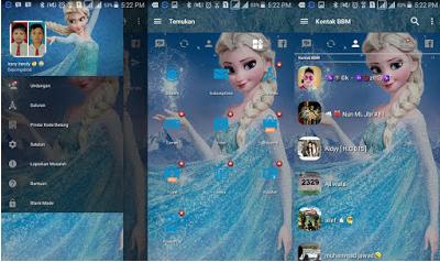 BBM Mod Frozen Terbaru Full Features v3.2.0.6 Apk