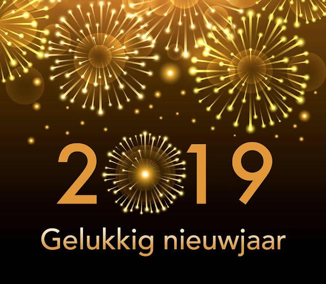 Nieuwjaar 2019 plaatje