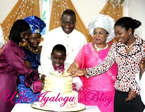 Meet President Jonathan's Secret Second Wife, Mother Of His Two Boys