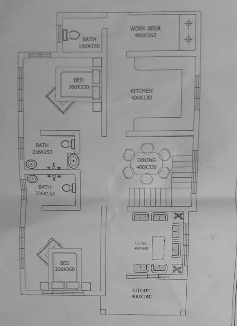 budget 3 bedroom free home plan suitable for lengthy small