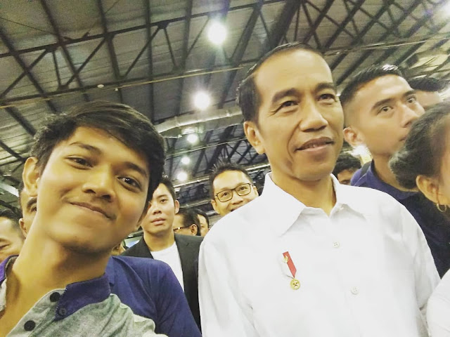 Young on Top National Conference 2018 Jokowi