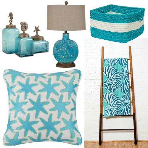 Ocean Blue Decor