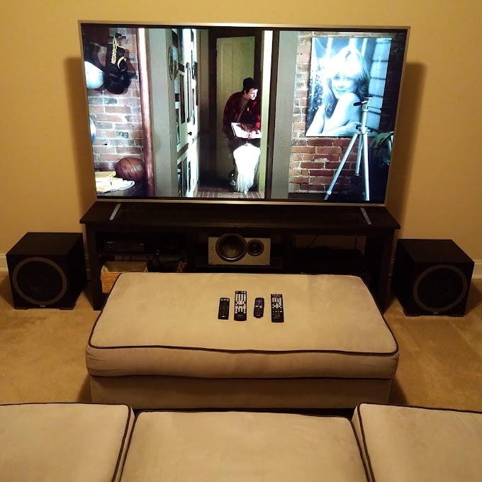 Our Home Theater & Cinema Review Room