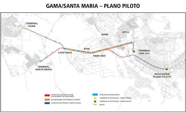 VLP Gama/Santa Maria e Plano Piloto