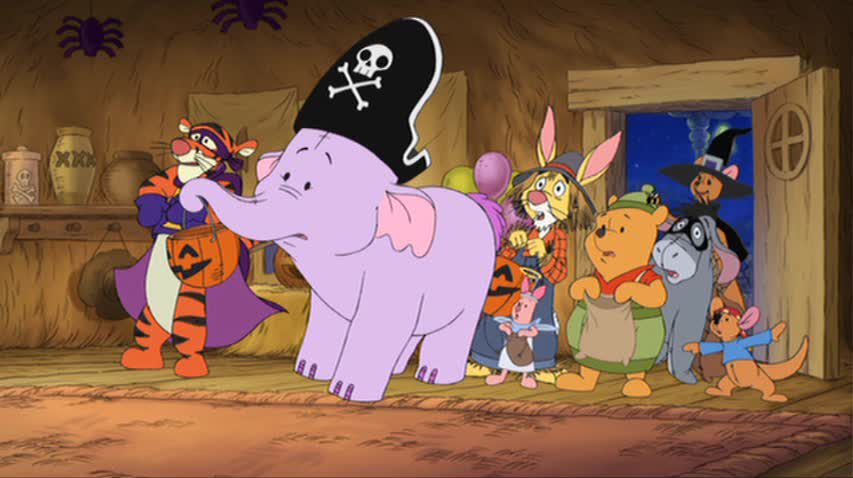halloween heffalump coloring pages - photo#27