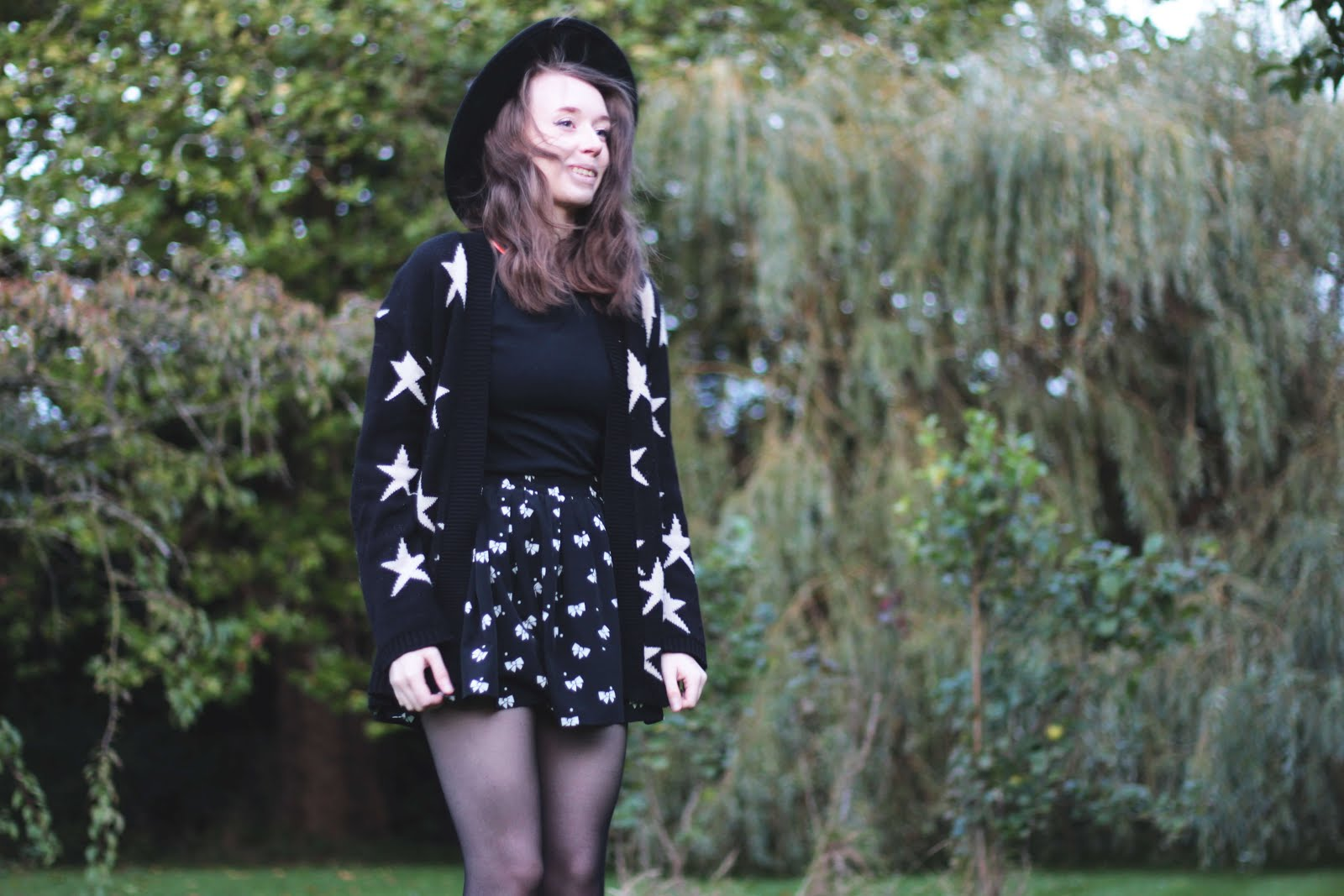 witchy autumn winter outfit inspiration