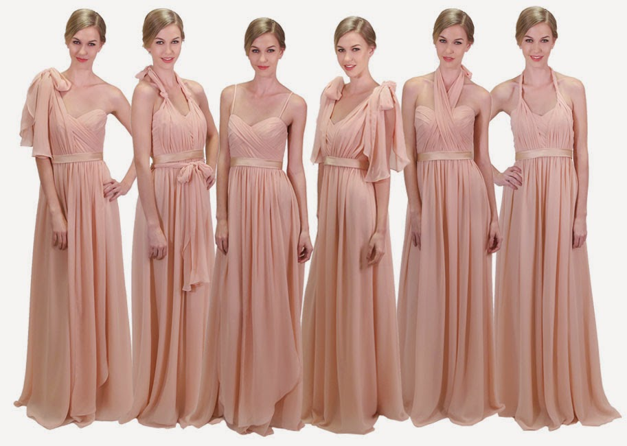 Multi Style Convertible Dress By Coco Melody