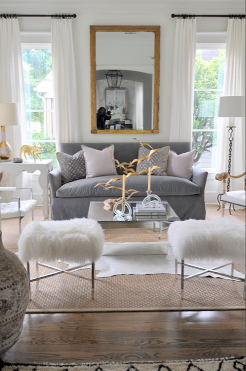 The Pink Doormat Hollywood Glamour Inspired Living Room