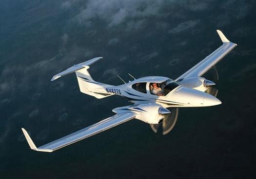 DA-42 en vuelo