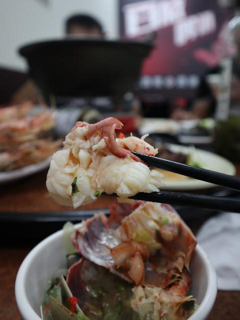 IMG 1607 - 二訪東港活海產│現點現撈,每樣餐點都超級新鮮,必點龍蝦味噌鍋