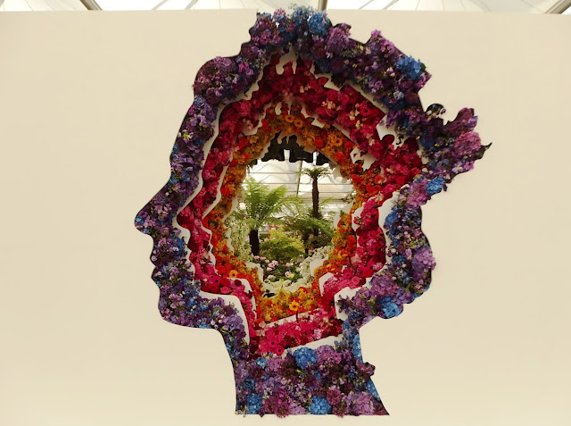 New Covent Garden Flower Market's exhibit at Chelsea Flower Show