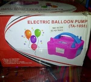 Pompa Balon Listrik / Pompa Balon Elektrik