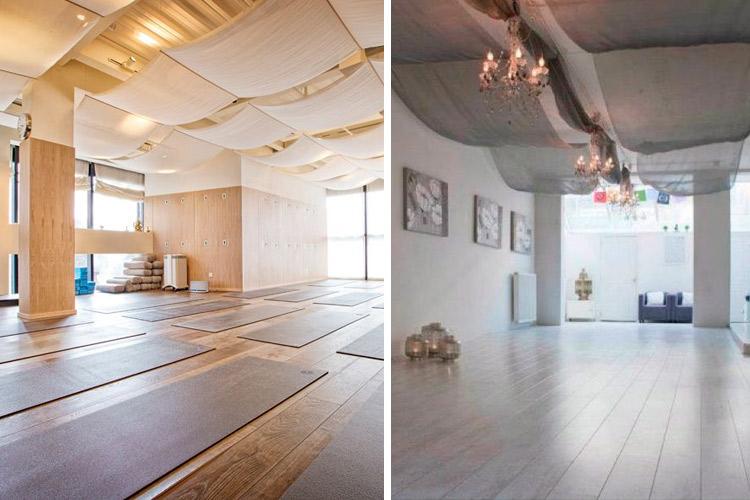 Marzua techos decorados con telas - Decorar el techo ...
