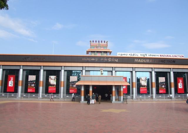 rail transport in madurai