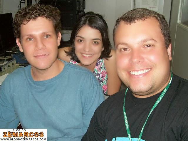 Márcio, Lívia e Rodrigo: o trio calafrio!