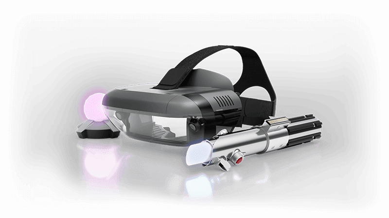 The Lenovo Mirage, lightsaber controller, and the sensor