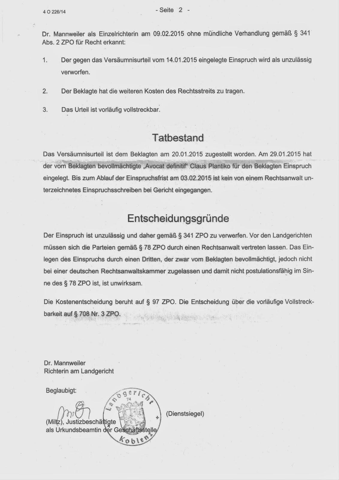 Aok Gesundheitskassen Geschäftsführer Hat Vollstreckbaren Titel Der
