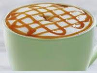 Foto Caramel Macchiato Coffee