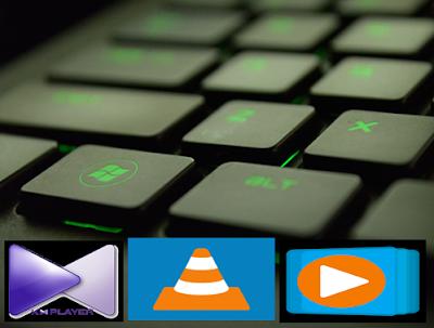 اختصارات الكيبورد لبرامج الميديا المعروفة VLC / KMPlayer / Windows Media Player