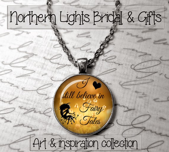 fairytale quote pendants
