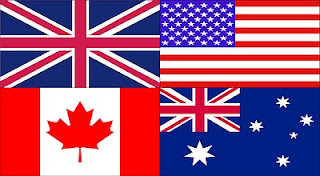 flaga angielska, lecz w wersji Common Wealth