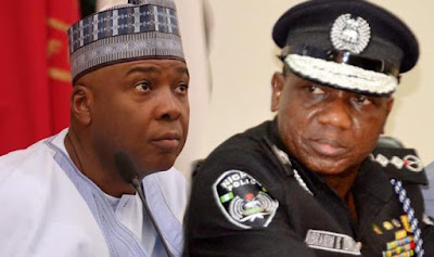 Falana, Others React to Saraki's Face Off with Police Headquarters over