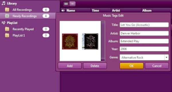grabar pistas de audio de spotify