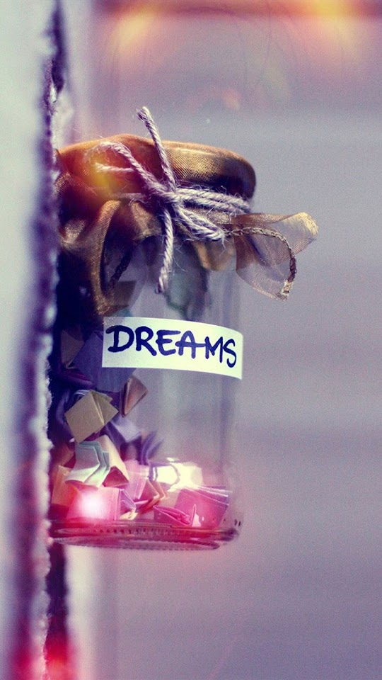 Dreams in A Jar  Galaxy Note HD Wallpaper