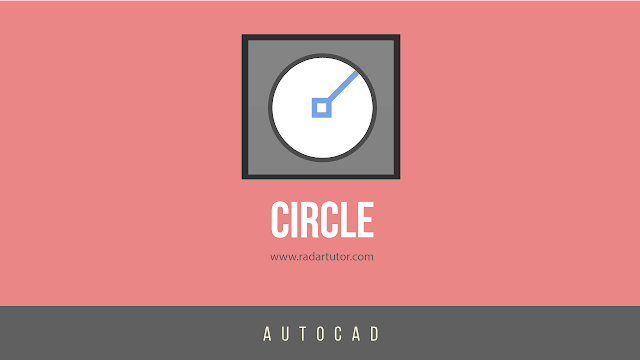 AutoCAD drawing tools: Circle
