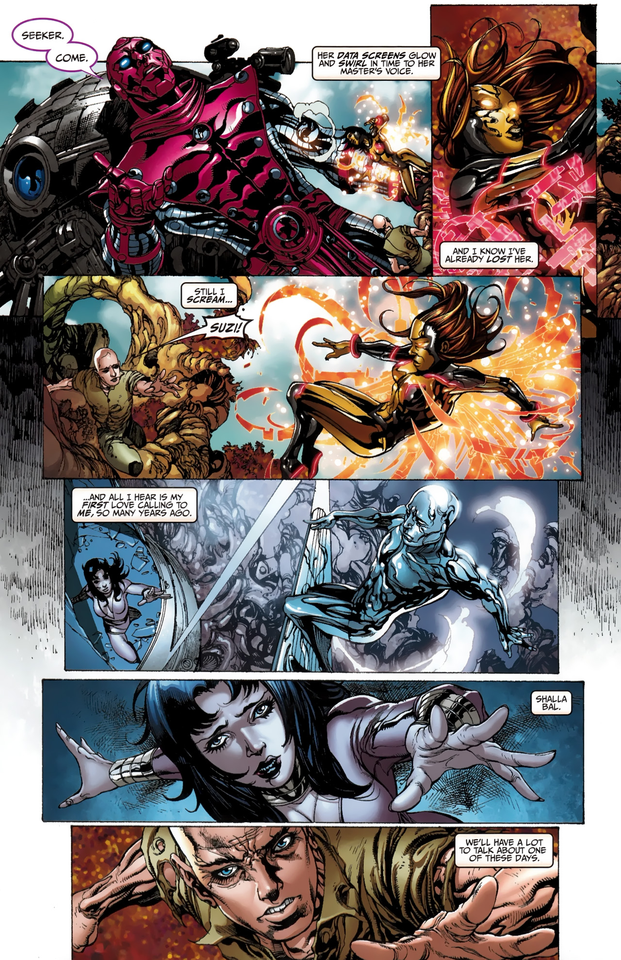Read online Silver Surfer (2011) comic -  Issue #4 - 7