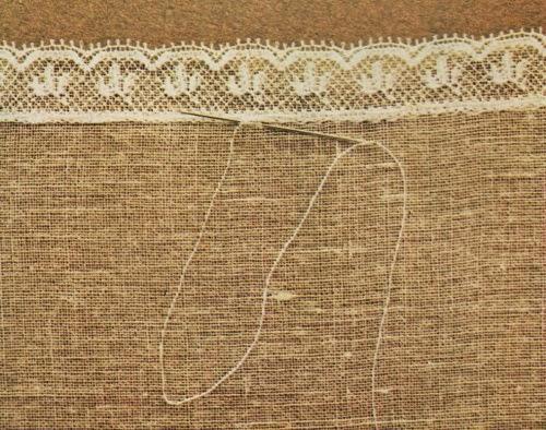 Professione donna: come applicare un inserto a filet su una stoffa