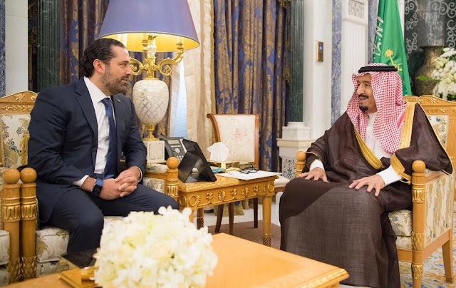احتجاز الحريري في السعودية