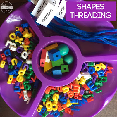 fine motor skill shape activity for kids