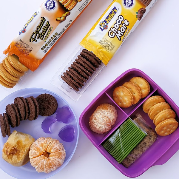 Kreasi Bekal Anak Sekolah Bersama Julie's Peanut Butter Sandwich dan Julie's Choco More