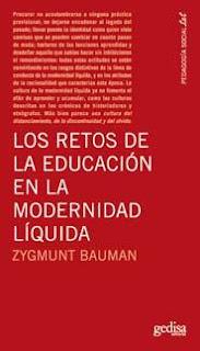 """""""Los retos de la educación en la modernidad líquida"""" - Z. Bauman"""