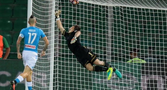 Palermo Napoli 0-3 video Highlights Auriemma
