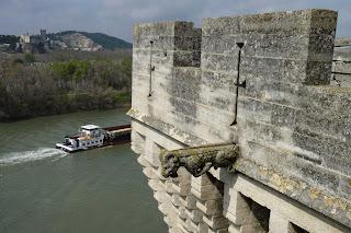 Vistas de los alrededores del Castillo de Tarascón desde la terraza.