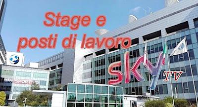 Sky offerte lavoro e stage (adessolavoro.blogspot.com)