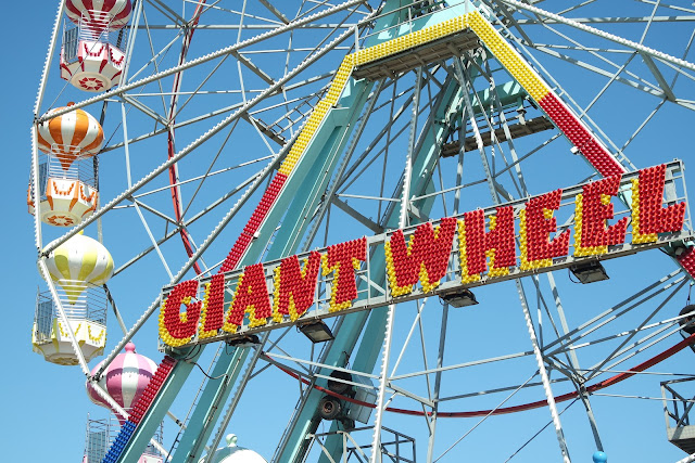 I went to the uk! - Giant ferris wheel in Skaegness pier - Dreams&Lashes