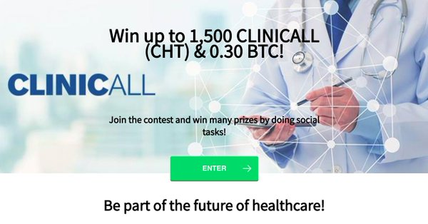 Win 1500 CHT and 0.3 BTC