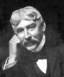 Bret Harte as an older man