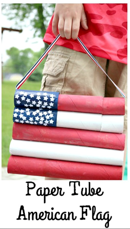 American Flag DIY 4th of July Decoration