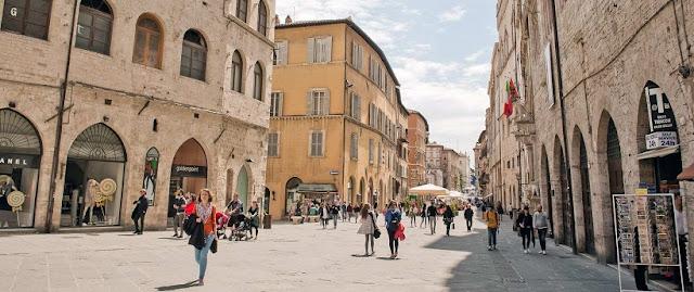 Tour pelo centro histórico de Perugia