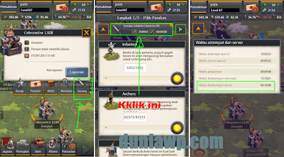 Cara Menentukan Landing Server Pada Game Throne Wars