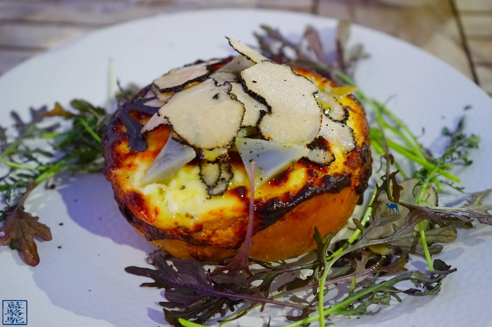 Le Chameau Bleu - Blog Gastronomie et Voyage -  O Petit monde Restaurant Sanary - Foccacia du  restaurant O Petit monde