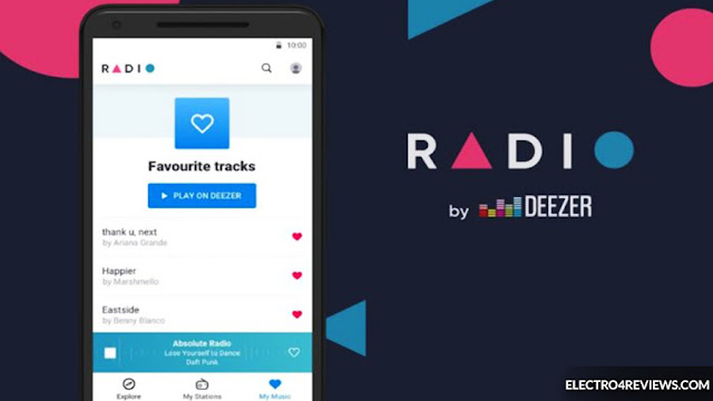 The new Radio by Deezer application offers 30,000 free radio stations