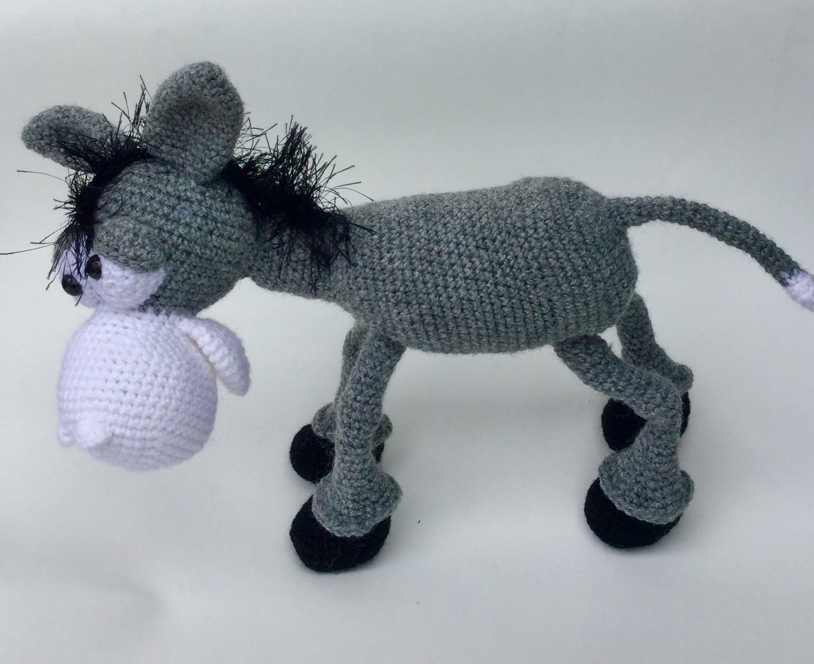Reny\'s Place....: Dusty the Donkey Crochet Pattern Review