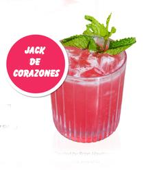 Cocktail Afrodisíaco: Jack de corazones